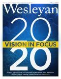Fall 2014 Wesleyan magazine cover